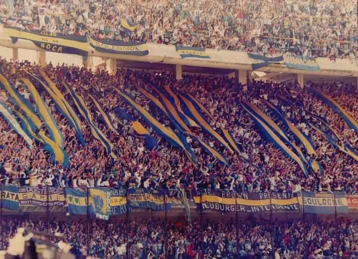#AficionesPorElMundo la conocida Nº12 de #Argentina #BocaJuniors