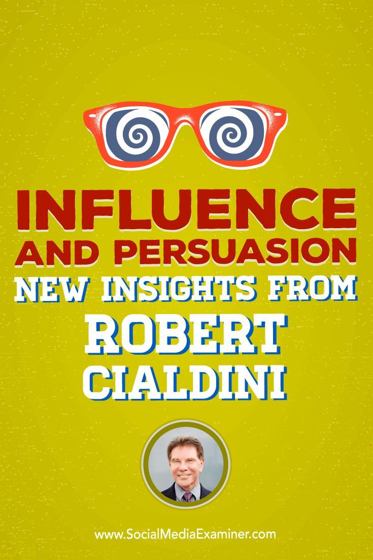 Robert Cialdini talks with Michael Stelzner about how to prepare people for a sale with the science of influence.