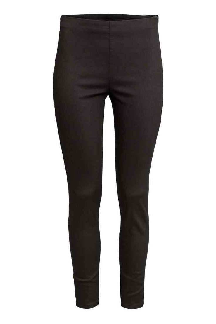 Stretch trousers - Black - Ladies | H&M GB