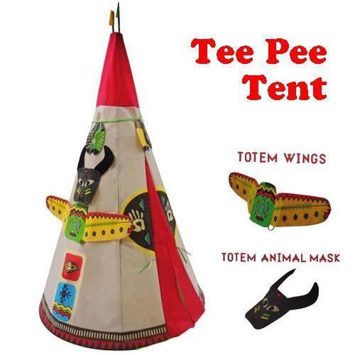 Indian Tee Pee Play Tent