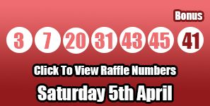 Here are tonight's Lotto results, check out this website for the raffle winning numbers for tonight's draw: http://lottorafflenumbers.com/lotto-results-5th-april/ #lottery