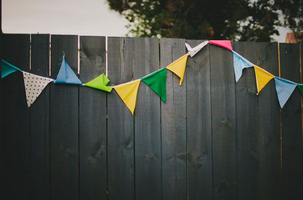 There will be homemade bunting - oh yes there will! Our theme for this is vintage nautical. So shades of blue, white & red.