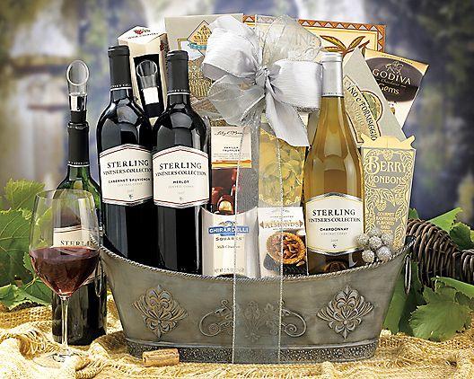 Wedding Wine Gift Basket: Best 25+ Wine Gift Baskets Ideas On Pinterest