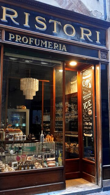 Old shop, Lucca, Italy