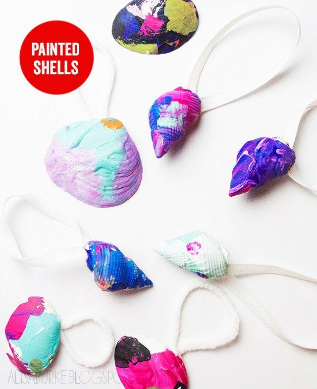 painted shells - Alisa Burke
