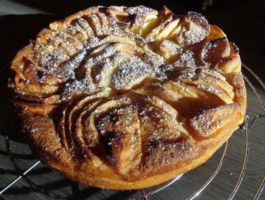 Συνταγή για μια τάρτα μήλου με κανέλα χωρίς ζύμη!   Be2news
