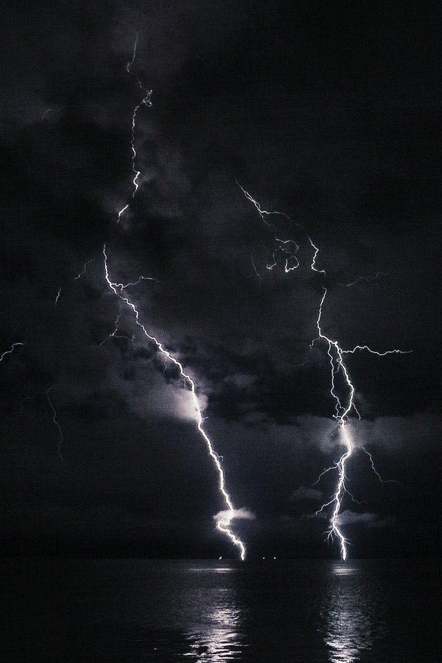 Dance With Me In This Darkness Black Thunder Thunder And Lightning Storm Magic Aesthetic Lightning wallpaper hd iphone