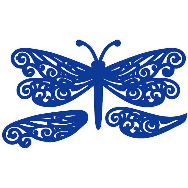 Tattered Lace Dies - Dragonfly from crafting.co.uk