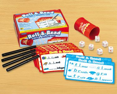 Roll & Read Blends & Digraphs Game at Lakeshore Learning