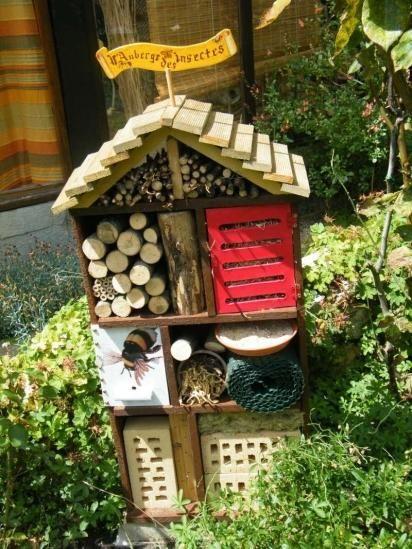 1000 id es sur le th me hotel a insecte sur pinterest for Idee amenagement jardin potager