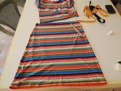 En este tutorial voy hacer una falda muy sencilla, en mi caso voy a aprovechar un vestido pero la podéis hacer con una camiseta o un trozo de tela. Otra de las cosas que os quiero enseñar es a pon…