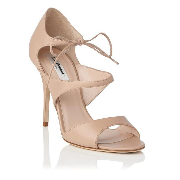 Karlie Beige High Heel Sandals | Shoes | Collections | L.K.Bennett, London