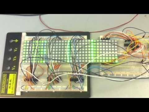 Twitter Ticker Using 32x8 Dot Matrix Display - Tronnixx in Stock - http://www.amazon.com/dp/B015MQEF2K - http://audio.tronnixx.com/uncategorized/twitter-ticker-using-32x8-dot-matrix-display/