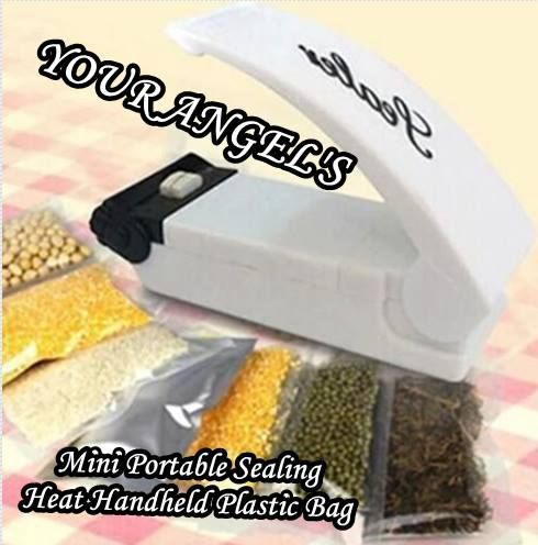 Magic Smart Sealer Portable Heat Sealer Mini Sealing Machine— $20.00 (Save 61%!) Magic Smart Sealer Portable Heat Sealer Mini Sealing Machine Whach video —- Specifications: Material: ABS plas…