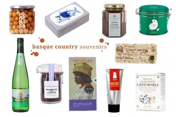 Basque Country Food Souvenirs