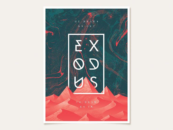 Early Exodus Sermon Series Poster