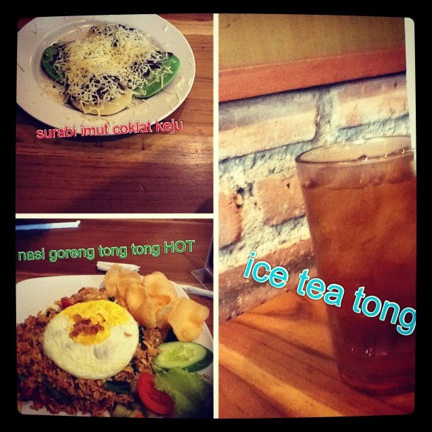 #picstitch lunch HOT at Pasar tong tong #instafood #instagram #instagood #hot - @taniabonita- #webstagram