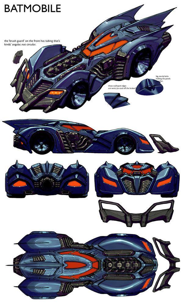 Batman Arkham Asylum concept art
