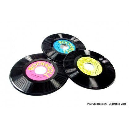 45 tours factices pour vos d corations ann es 60 80 disque vinyl 45tou - Decoration disque vinyle ...