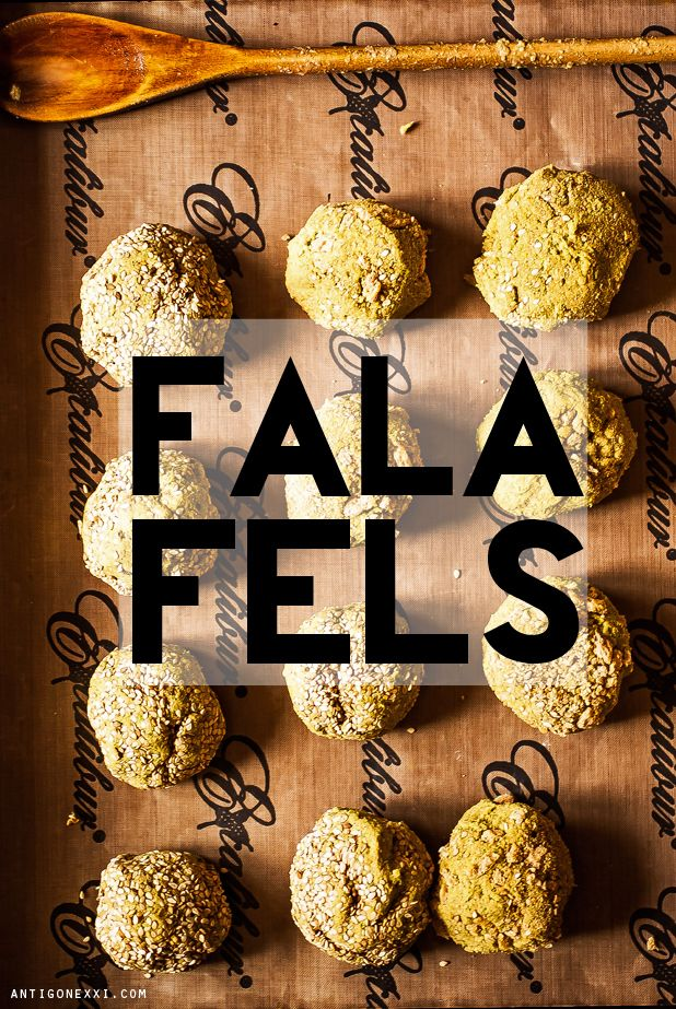 FALAFELS & HUMMUS MAISON (vegan & sans gluten)