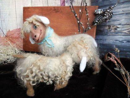 """""""Мамино молочко"""".Овечки. - белый,авторская овечка,авторские овечки,белые овечки"""