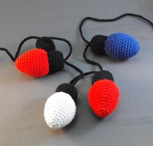 Light Balls Crochet - Tutorial ❥ 4U // hf