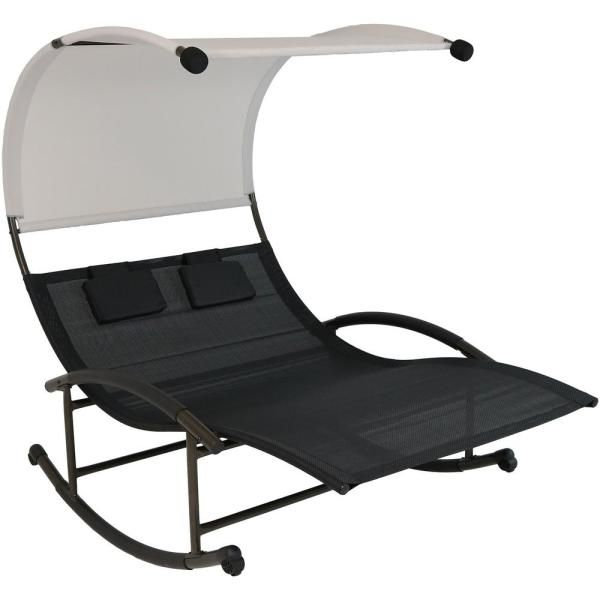Foldable Double Chair W Umbrella Cooler Table De Camping Pliante Table Camping Chaise De Camping