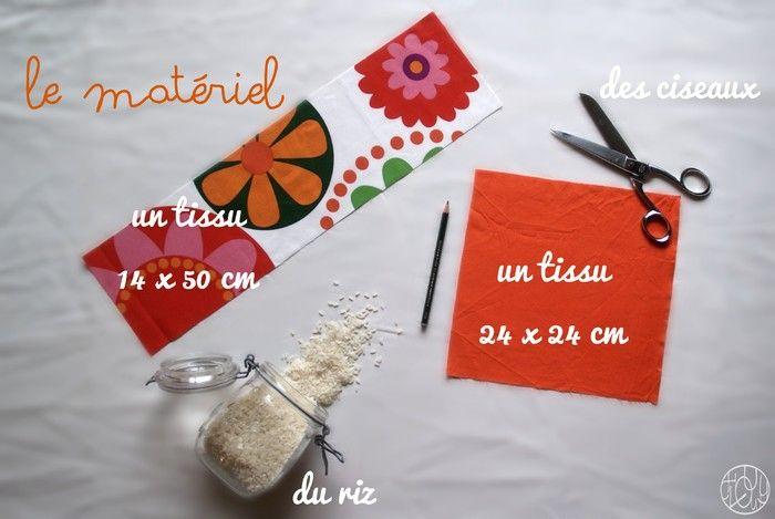 Tuto - Une bouillotte sèche