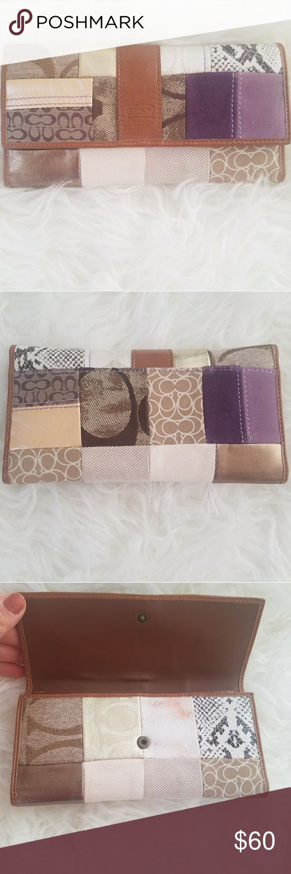 Coach Wallet Leatherwear est. 1941 patchwork Coach Wallet Leatherwear est. 1941 patchwork. New without tag. Coach Bags Wallets