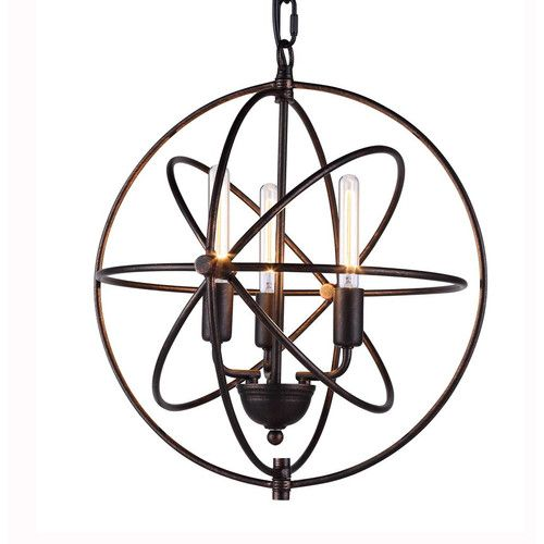 Found it at Joss & Main - Vienna 3 Light Foyer Pendant
