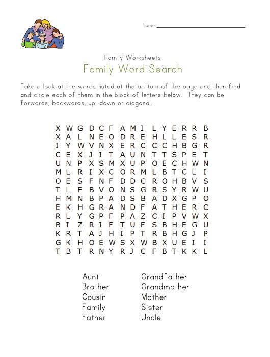 A Tree Letter English Word Puzzle