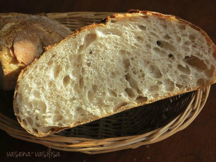 Итальянский хлеб на заварке - Горбушка хлеба