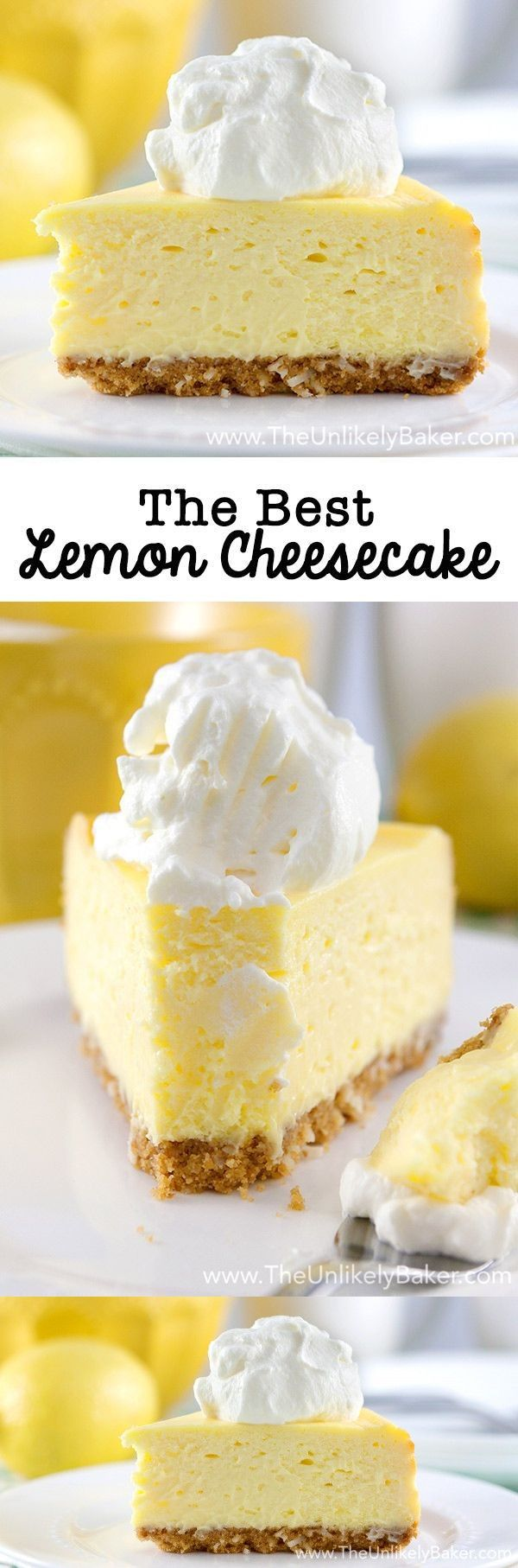 1 tbsp Lemon, zest. 4 Eggs, large. 2 tbsp All-purpose flour. 3/4 cup Granulated sugar. 1/2 cup Coconut, sweetened. 1 1/2 cups Graham cracker crumbs. 4 blocks 8 ounce cream cheese. 4 tbsp Butter, unsalted. 2 tbsp Milk. 1 cup Sour cream. 2 packages 4-serving size lemon instant pudding.