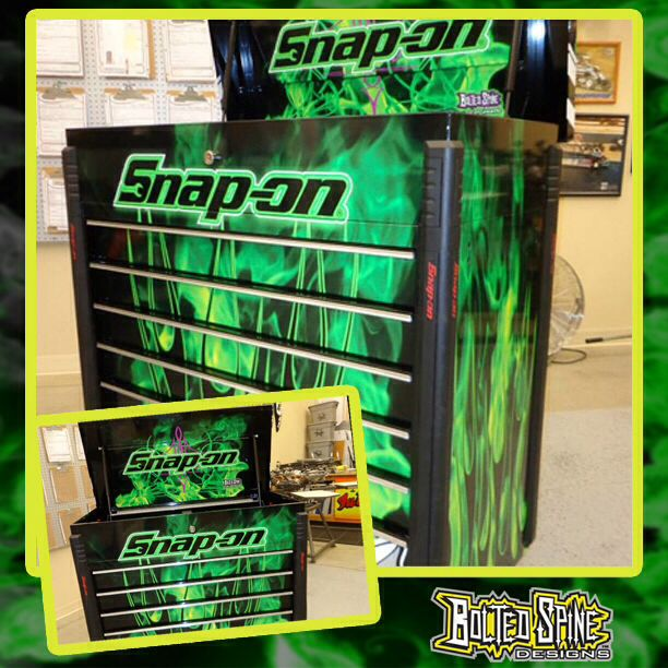Toolbox Custom Printed And Wrapped With 3m 180c Vinyl By
