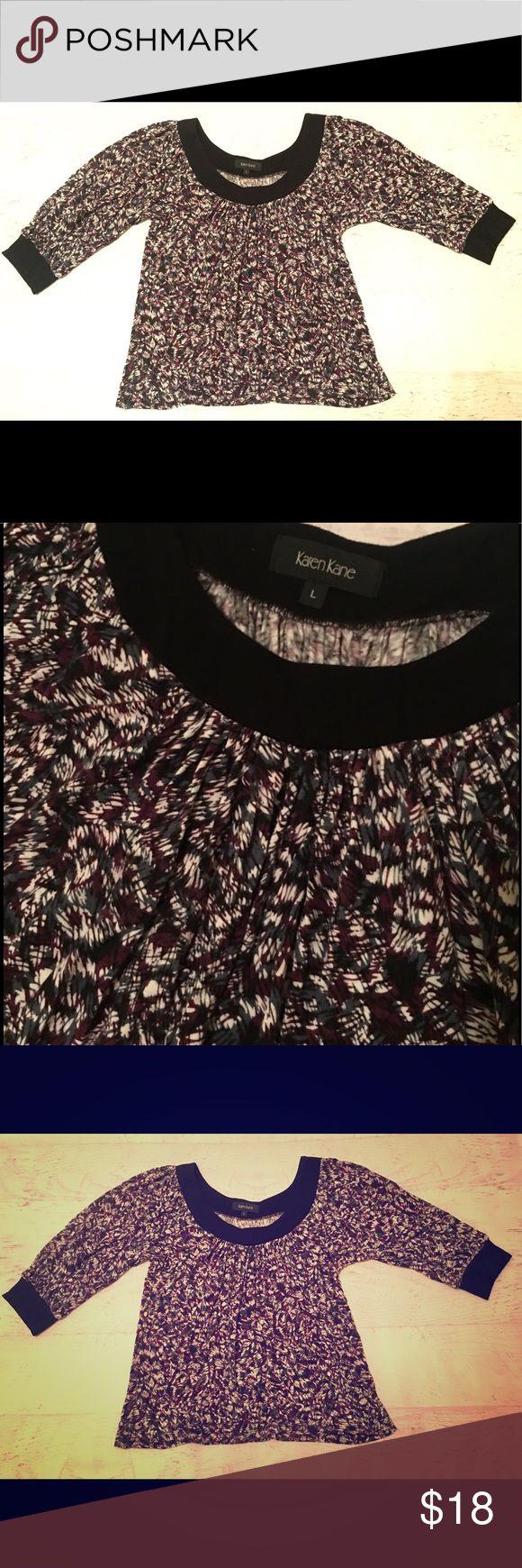 Karen Kane flowy top! Super soft!! 🤗🤗🎀❤️ Karen Kane flowy casual top. Sooo soft and flattering! Size Large Karen Kane Tops Blouses