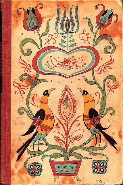 .: Vintage Books, Shoo Flying Pies, Art Illustrations, Books Covers Art, Folk Art, Comic Books, Pennsylvania Dutch, Folkart, Colors Books