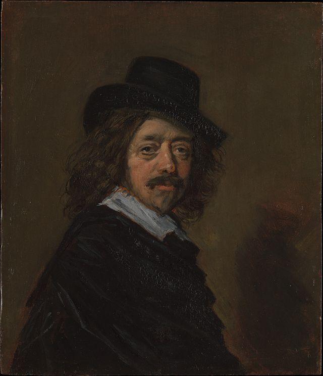 * Retrato de Frans Hals. Auto-Retrato * Pintor belga. (* Antuérpia, 1580 ou 1585 - Haarlem, 10/Agosto/1666).