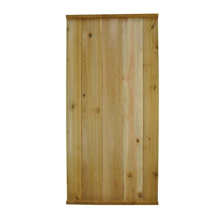 w western red cedar tongue and groove fence