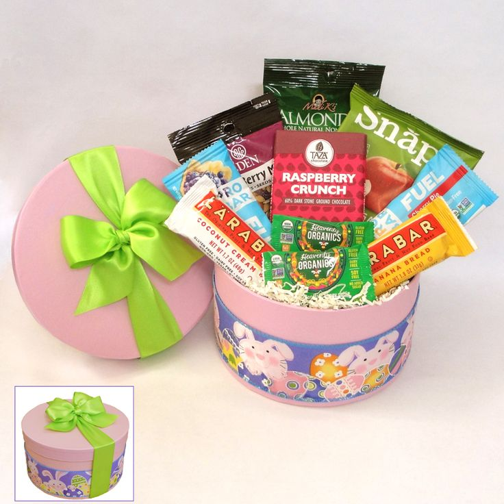 21 best paleo springtime gifts images on pinterest gift basket send some paleo snacks this easter inside this colorful box youll find a variety of chocolates snack bars nuts and fruit treats negle Image collections
