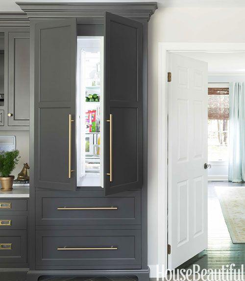 Kitchen Cabinets Refrigerator: Best 25+ Built In Refrigerator Ideas On Pinterest