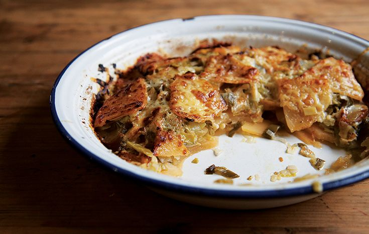Swede, leek and apple bake. Follow link for full recipe from appetite, North East England's dedicated food & drink publication.