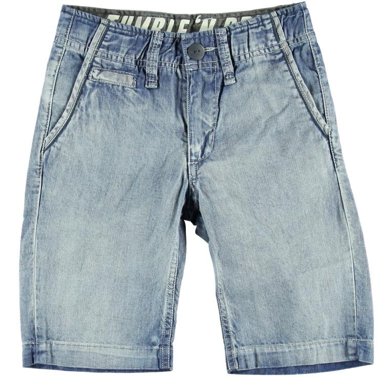Korte Broek Denim | Tumble n Dry | Daan en Lotje https://daanenlotje.com/kids/jongens/tumble-and-dry-korte-broek-denim-001330