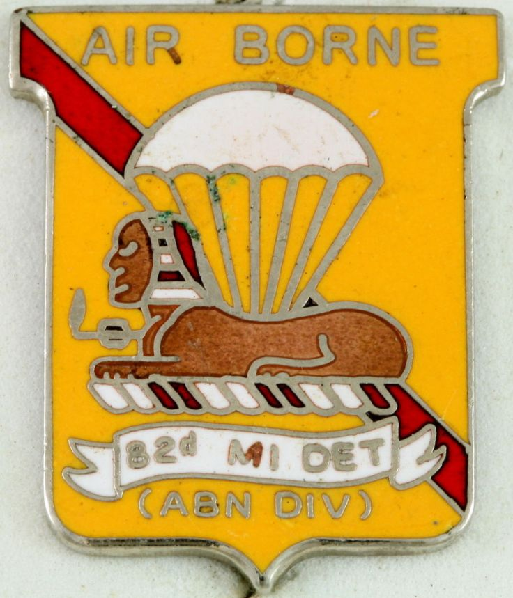 82nd Airborne Division Military Intelligence unit( obsolute)