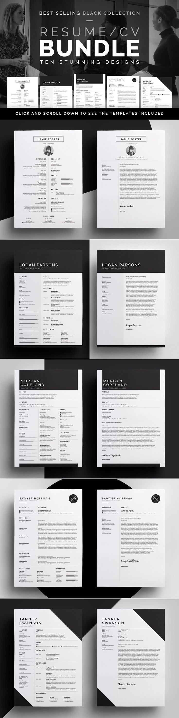 Top 25 Best Cover Letter Layout Ideas On Pinterest Layout Cv