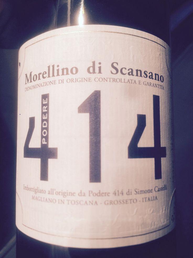 Morellino di Scansano DOCG 2011 – Podere 414 – Tannin Time