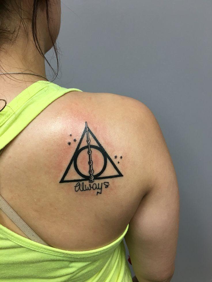 Finally Got The Harry Potter Tattoo I Ve Been Wanting Deathlyhallows Always Hptattoo Harry Potter Tattoos Tattoos Always Tattoo