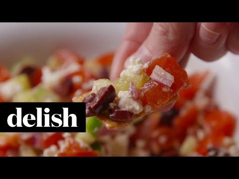 Making Greek Salsa Video - Greek Salsa Recipe