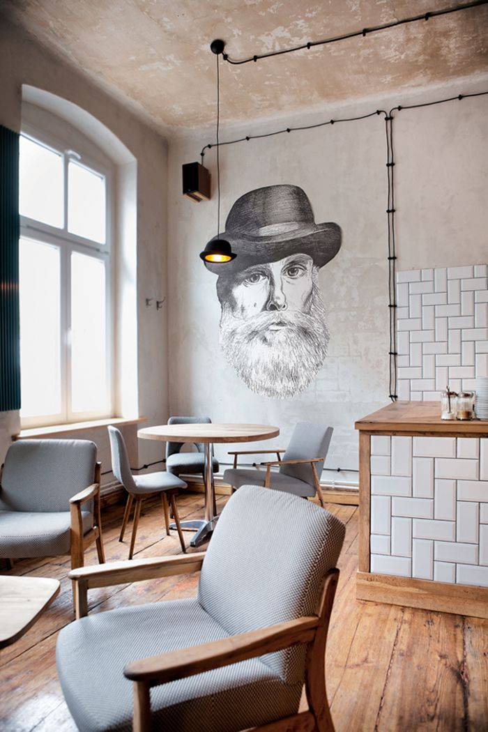 JEEVES at Minister Café by Ostecx Créative, Poland http://www.innermost.net/wp/jeeves-and-wooster