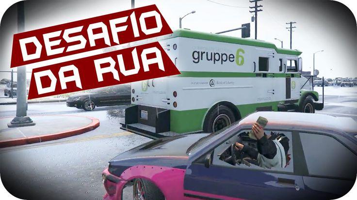 GTA 5 PC Online - DESAFIO DA RUA! DRIFT