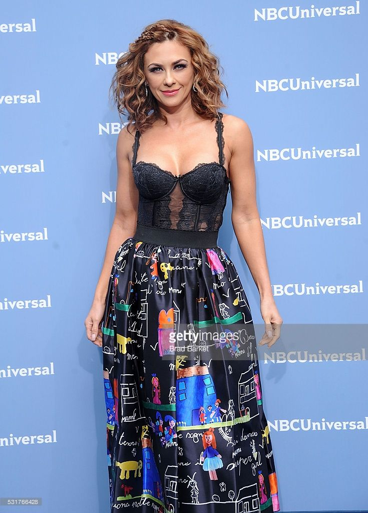 Aracely Arambula attends the NBCUniversal 2016 Upfront Presentation on May 16, 2016 in New York City.